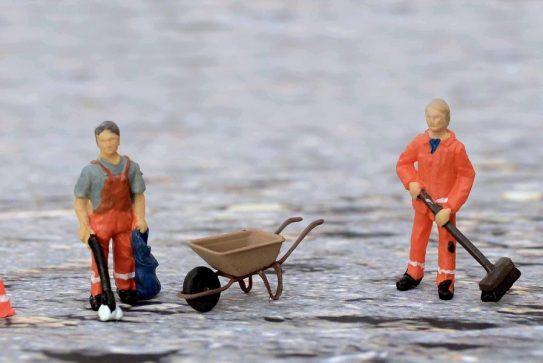 La regulación del trabajo de limpieza de espacios público