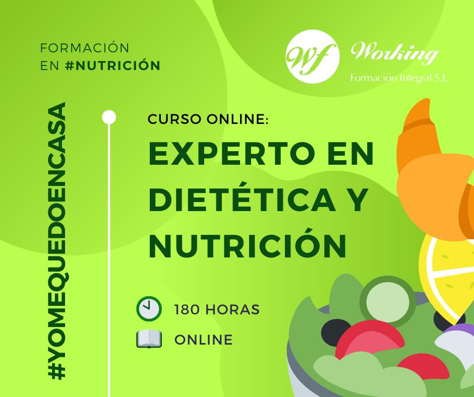 Nutrición y Formación Online: Aprender a Comer Bien